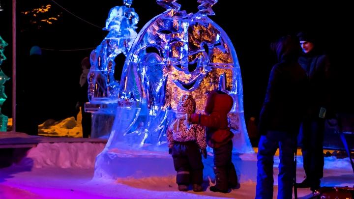 Семь ледовых скульптур, горка и 29 елок: как украсят Архангельск к Новому году