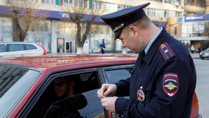 В Волгоградской области полиция массово проверяет водителей
