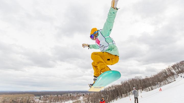 Горнолыжники и сноубордисты закрыли сезон ежегодным фестивалем Ufa Winter Fest