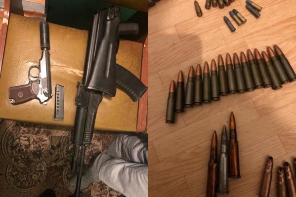 Сейчас полицейские выясняют, как оружие оказалось в руках норильчанина