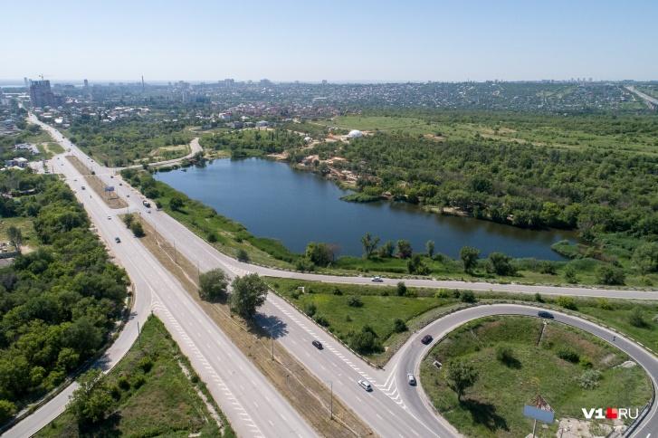 Парк расположится в одном из живописнейших мест Волгограда