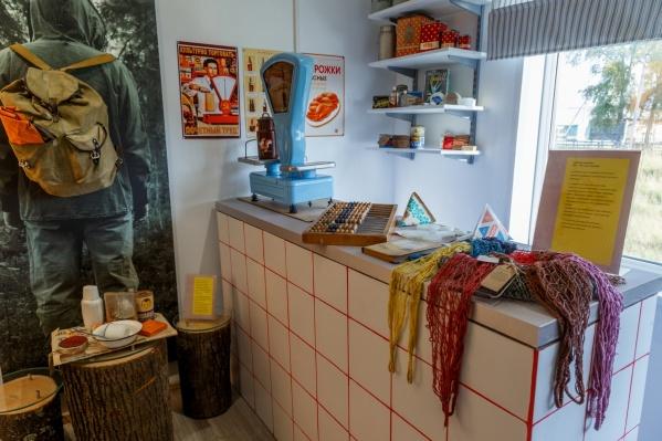 Экспонаты для экспозиции собирали всем регионом — у кого что сохранилось на чердаках и в кладовках
