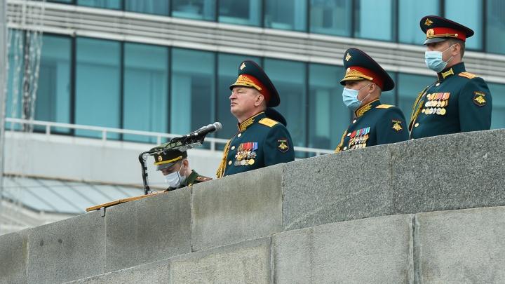 Вход по пропускам: парад Победы с гостевой трибуны в Екатеринбурге посмотрят только 200 человек