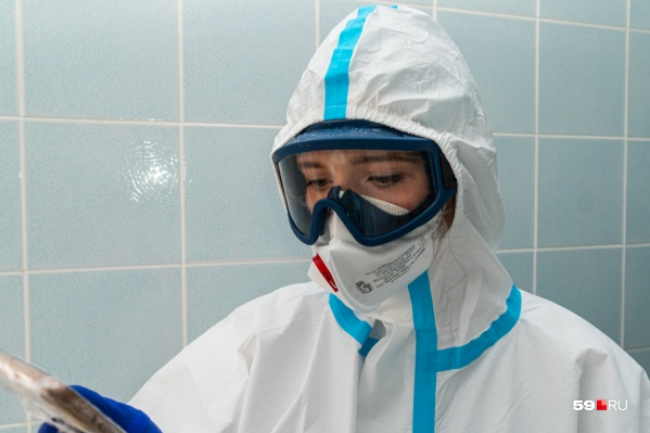 Всего с начала пандемии заболели 8969 человек