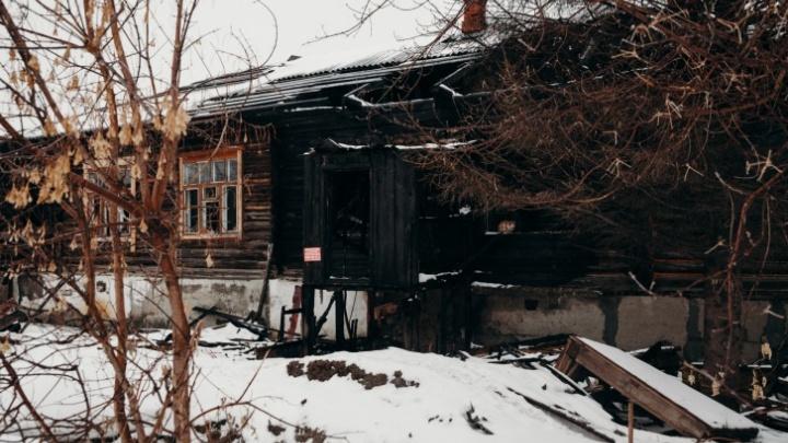 На Береговой подожгли дом: это седьмой пожар с начала года