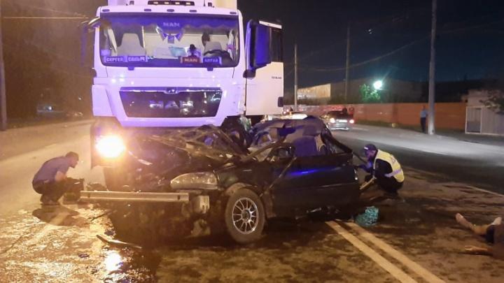 23-летний водитель «Хонды» убил свою 18-летнюю пассажирку и погиб сам