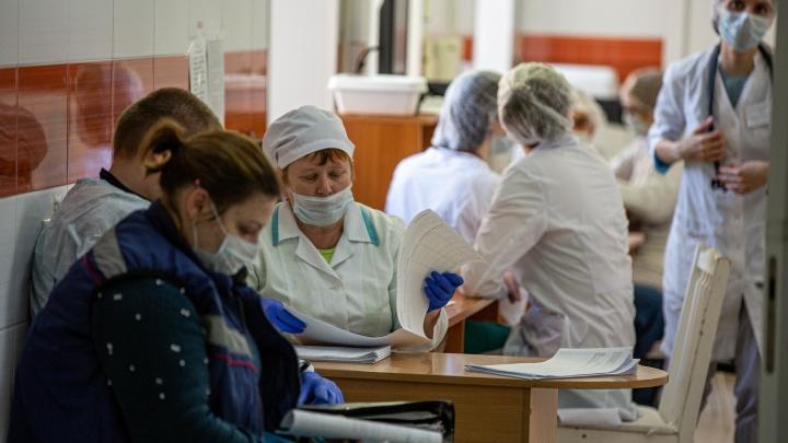 «Одну из пациенток обследовали из-за ОРВИ»: в Новосибирске коронавирусом заболело ещё три человека