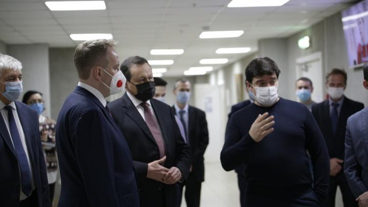 Замминистра науки и высшего образования РФ посетил с рабочим визитом СибГУ им. М. Ф. Решетнёва