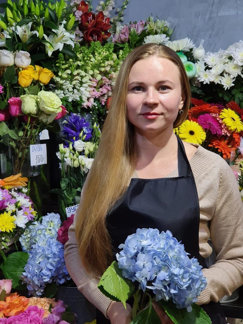 Флорист из Архангельска Ольга Третьякова