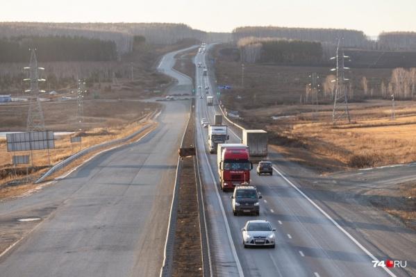 К сожалению, за семь лет эксплуатации челябинская автомагистраль на трассе М-5 пришла в негодность