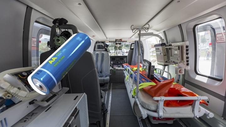 В Волгоградской области двухлетний ребёнок проглотил батарейку