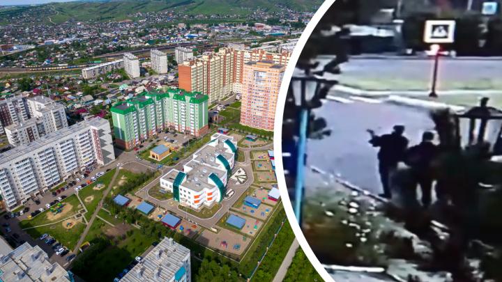 Красноярца, стрелявшего по витринам из развлечения, задержала полиция
