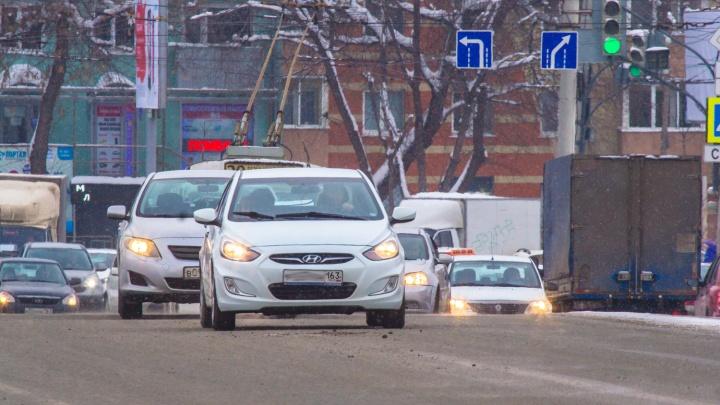 Самарским автомобилистам предложили избавиться от транспортного налога