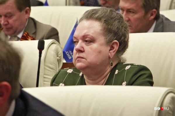 Ирина Петровна также была депутатом Законодательного собрания