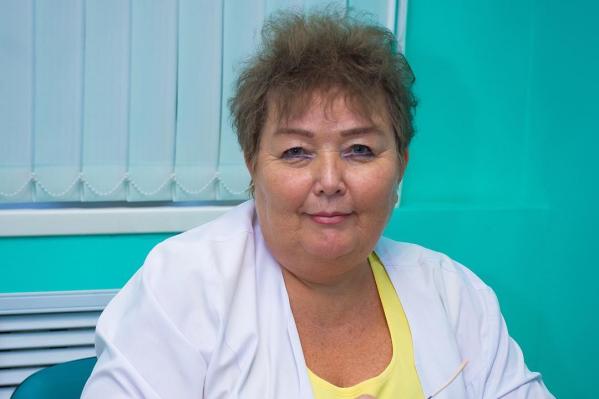 Татьяна Геннадьевна Ревельская работала в Усть-Катаве больше 30 лет