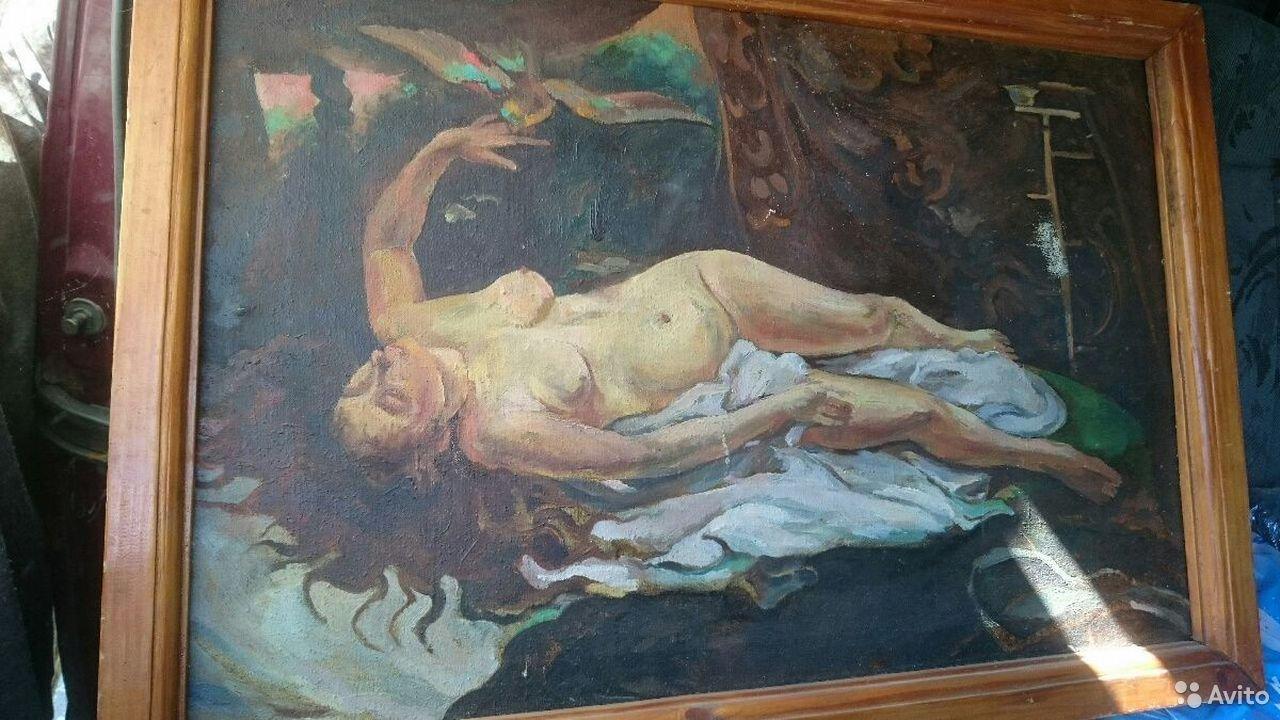 Нанешний владелец оценил это полотно неизвестного художника в 900 тысяч рублей, и не меньше. Что скажете?