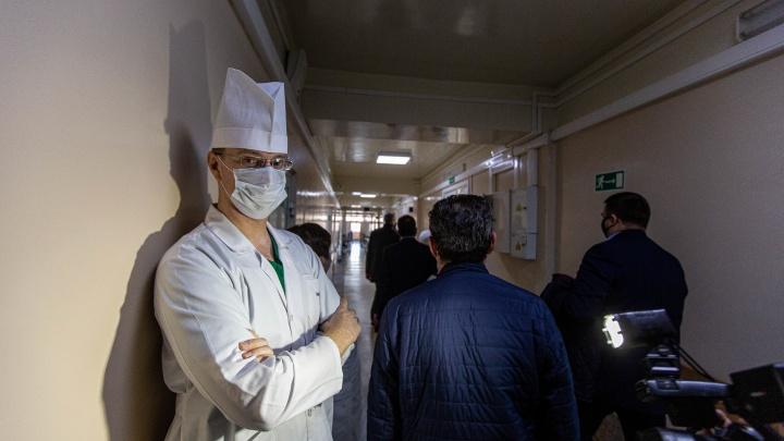 Правительство выделило 52 миллиона новосибирским медикам, которые борются с коронавирусом