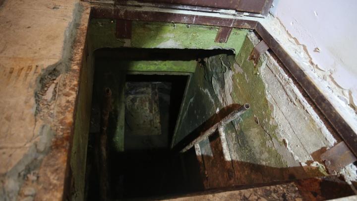 Волгоградские сталкеры накануне Нового года спрятались в бомбоубежище