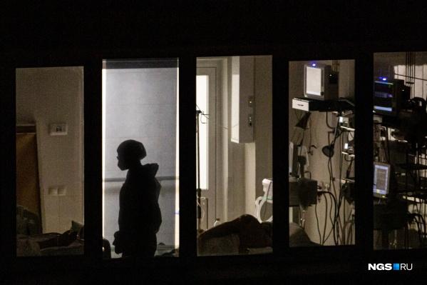 430 человек находятся в реанимации в Новосибирской области с диагнозом «коронавирус»