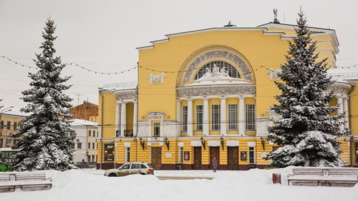 «Ремонта оказалось недостаточно»: в Ярославле реконструируют театр имени Фёдора Волкова