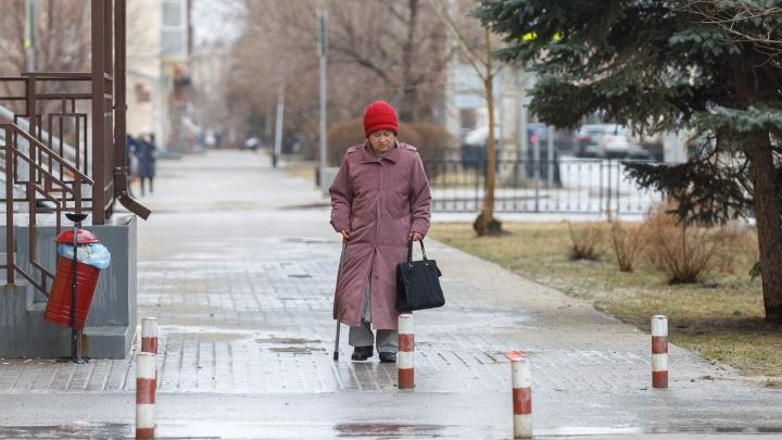 Дождь со снегом: волгоградцев предупредили о надвигающемся сильном ветре до 18 м/с