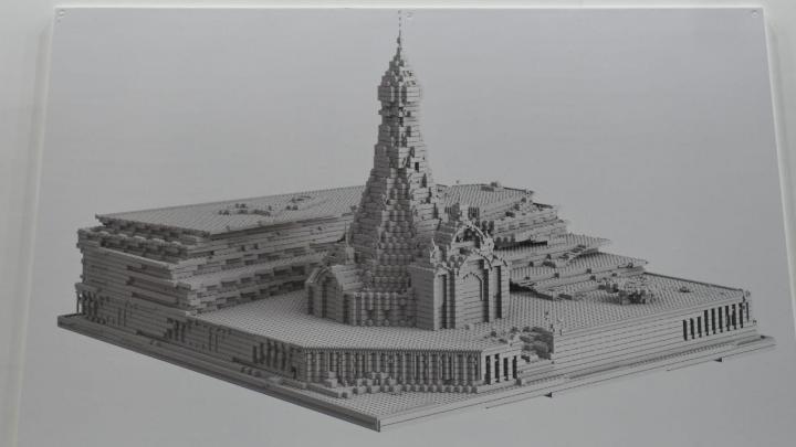 В УГМК показали эскиз храма Святой Екатерины