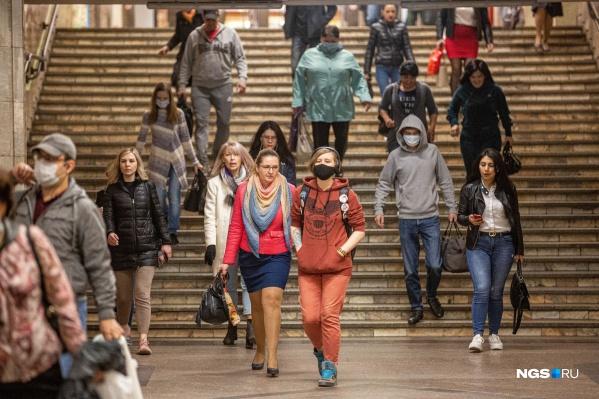 Если новосибирцы не будут носить маски, то число заболевших может возрасти