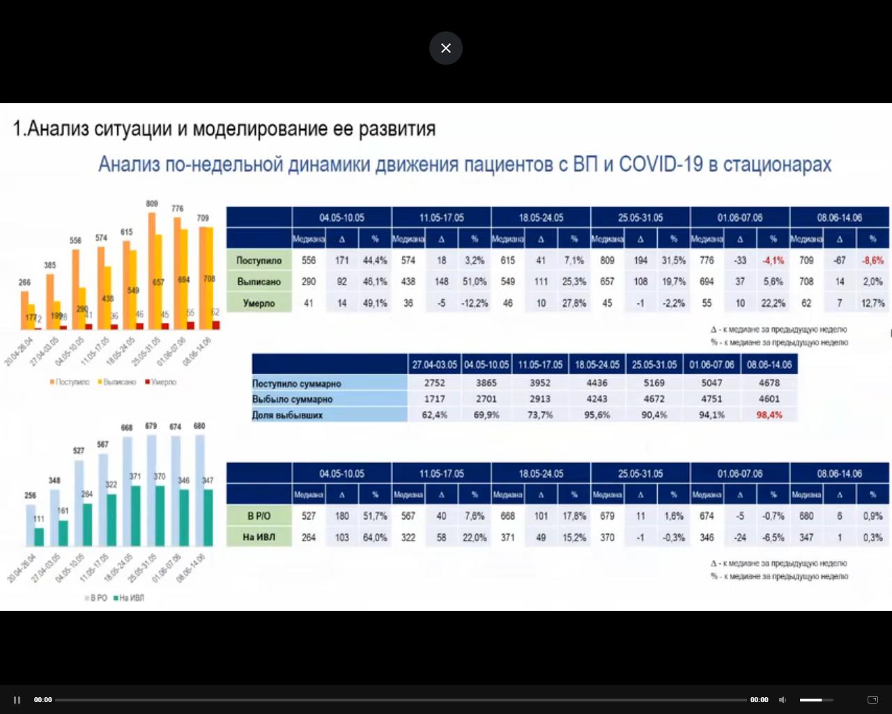 презентация межведомственной рабочей группы по противодействию распространению коронавируса в Петербурге