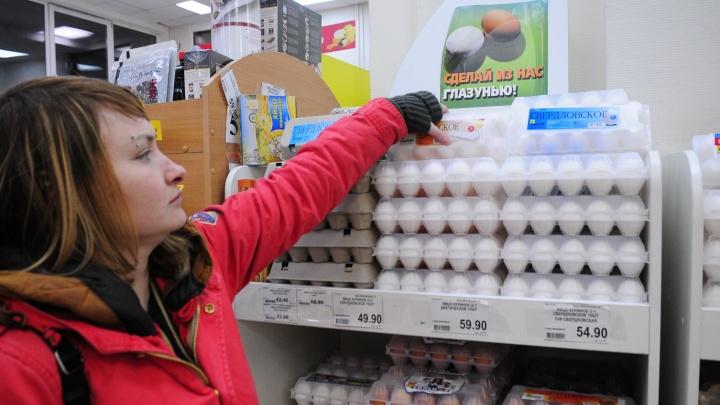 В Свердловской области продолжает дорожать курица