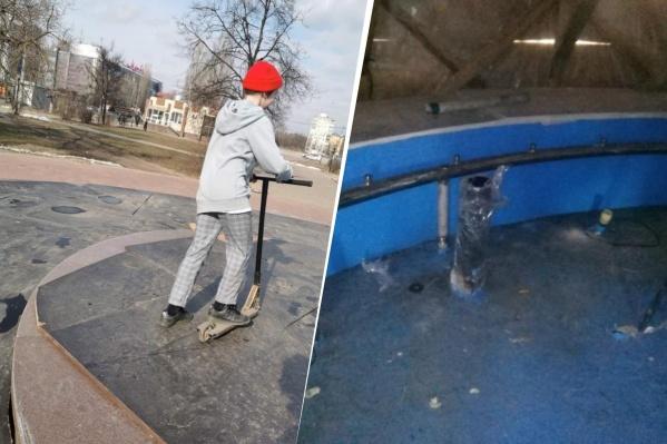 Не все нижегородские фонтаны пережили зиму