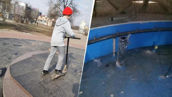 «Самый серьезный ущерб — на Автозаводе»: вандалы повредили четыре нижегородских фонтана