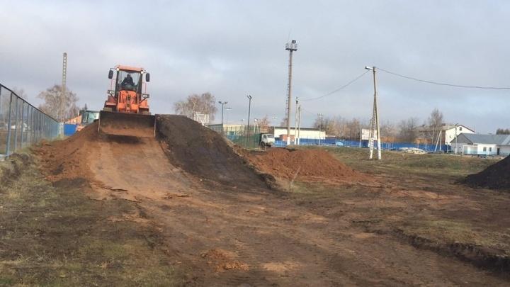 В Самарской области начали строить лыжероллерную трассу