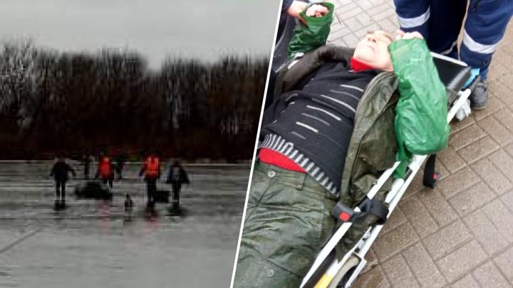 На Гребном канале спасли трёх рыбаков с разницей в 2 часа
