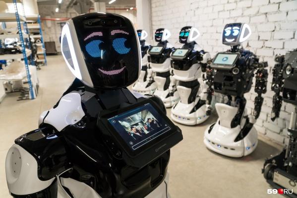 Роботы могут наблюдать за пациентами или доставлять еду