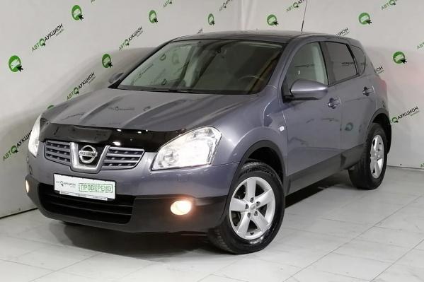 Nissan Qashqai 2009 года с самым маленьким в обзоре пробегом 103 тысячи километров