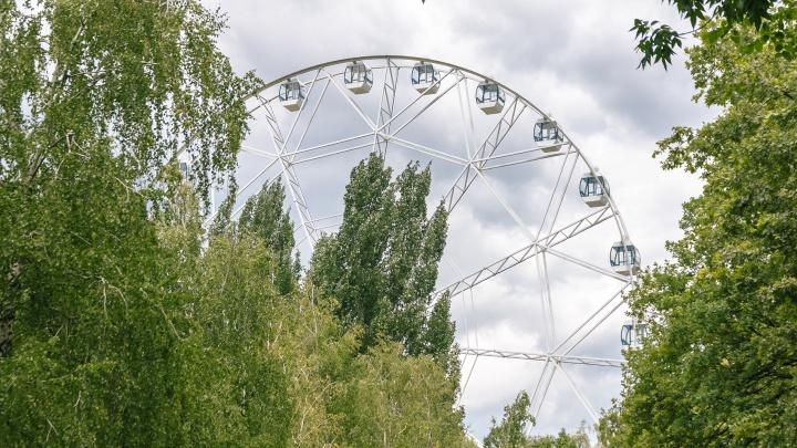 Стало известно, когда начнет работать колесо обозрения в парке Гагарина в Самаре