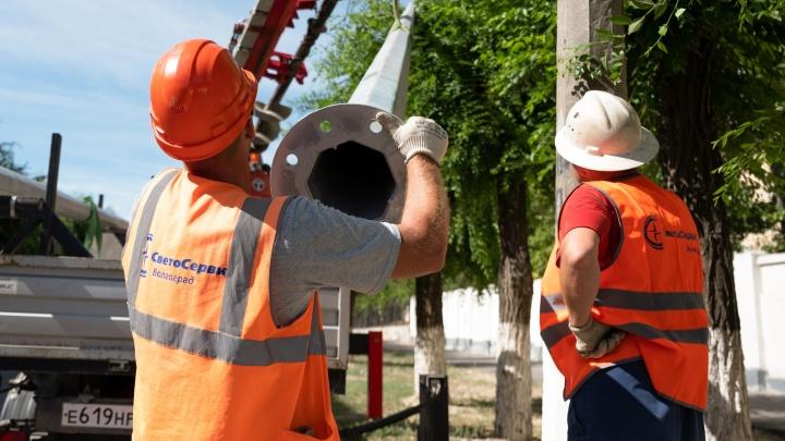 Электричество отключат в пяти районах Волгограда 14 августа