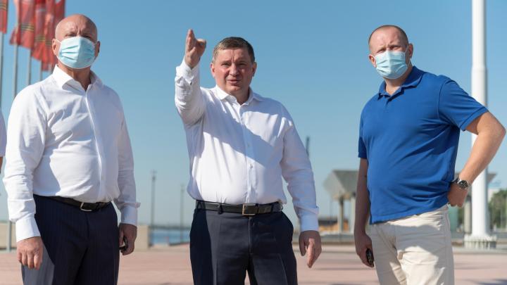 «Здесь будут дети со всего мира»: губернатор в Волгограде высказался о набережной, БК-31 и истории