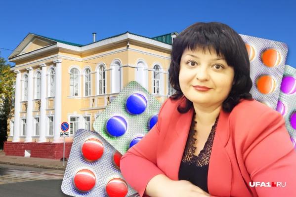 Замминистра здравоохранения Ирина Кононова курирует лекарственное обеспечение республики