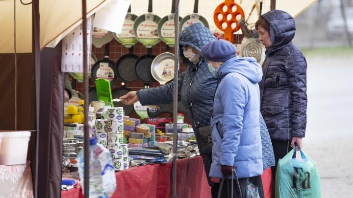 Среди заболевших коронавирусом в Челябинской области оказались уличные торговцы