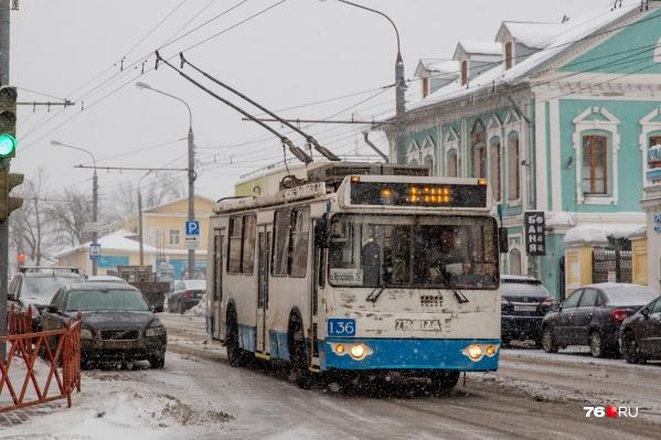 Тема с сокращением троллейбусных маршрутов оказалась болезненной для ярославцев