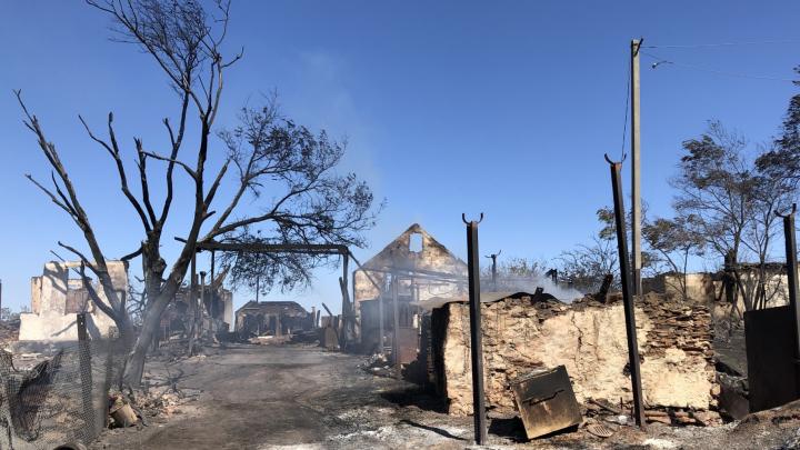 Пепел в глаза. Жители сгоревших сёл Ростовской области остались без обещанных губернатором выплат