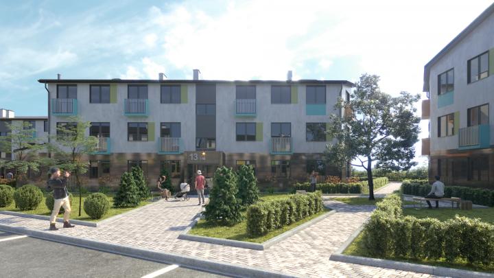 Шок-цены: в малоэтажном квартале появились квартиры от 4 913 рублей в месяц