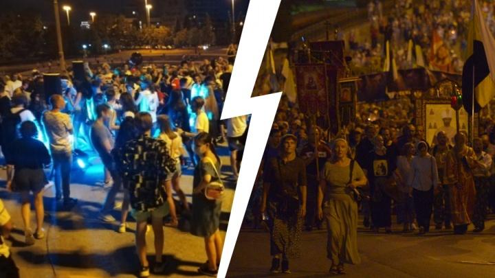 «Вы развлеклись, а страдать снова нам»: уральцы — о вечеринке под окнами правительства и крестном ходе