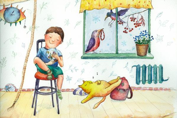 Иллюстрация к главе «Родители против лени»