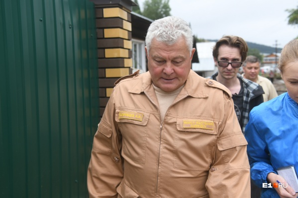 Кудрявцев приехал в Нижние Серги и проверил, как работают спасатели