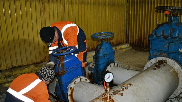 Под Курганом достроят водопровод, из-за которого было возбуждено уголовное дело
