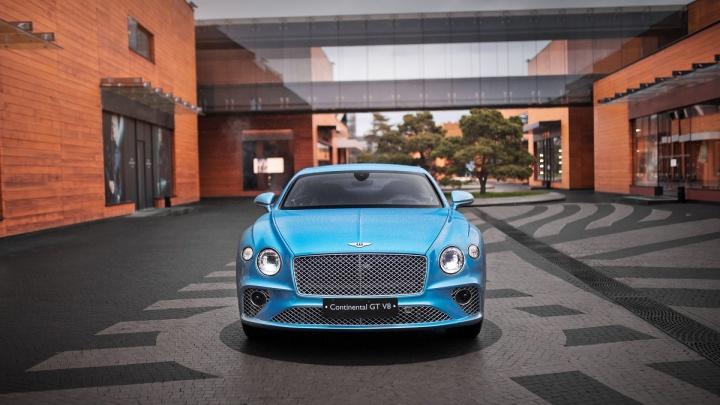 Захватывающая динамика, элегантность и изысканная отделка: в Красноярск прибыл новый Continental GT V8