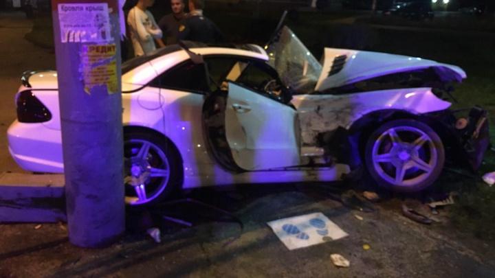 В ГИБДД рассказали подробности ДТП с Mercedes возле ТРК «Семья»