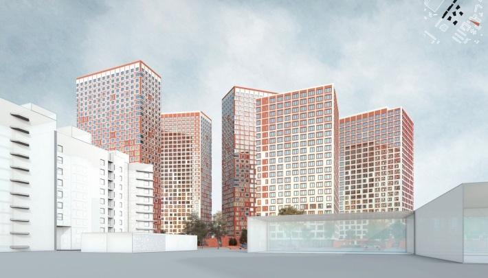 Высокинский разрешил строить рыжие высотки в промышленной зоне на Сортировке